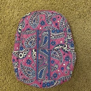 Vera Bradley back pack purple and blue paisley